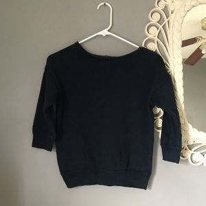Sweaters - Navy cropped sweater GAP